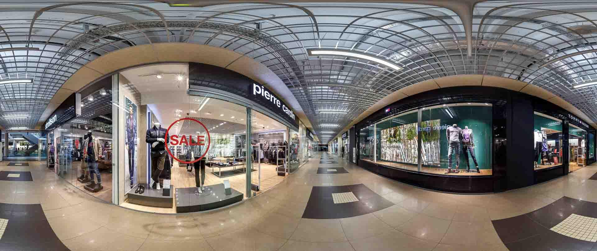 virtual tour 360 Centro commerciale