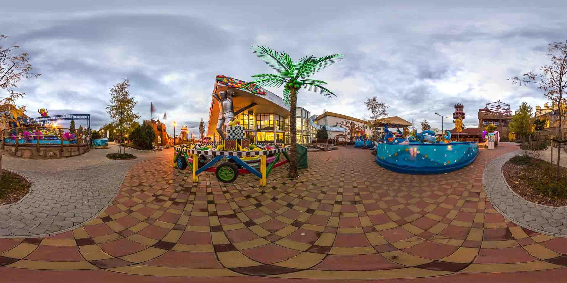 virtual tour 360 parchi divertimento