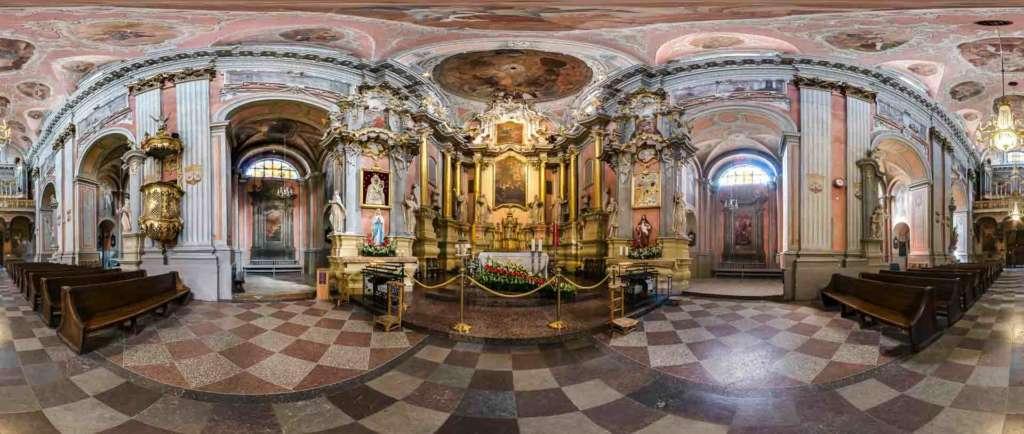 virtual tour 360 foto panoramiche beni culturali religiosi artistici