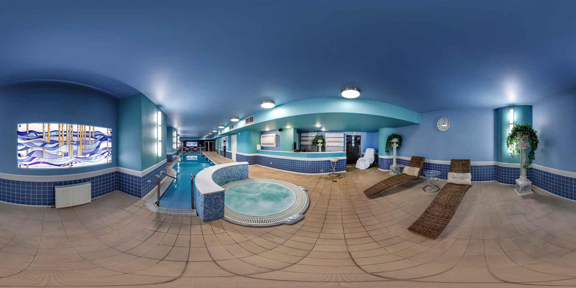 virtual tour 360 Centro benessere e Spa