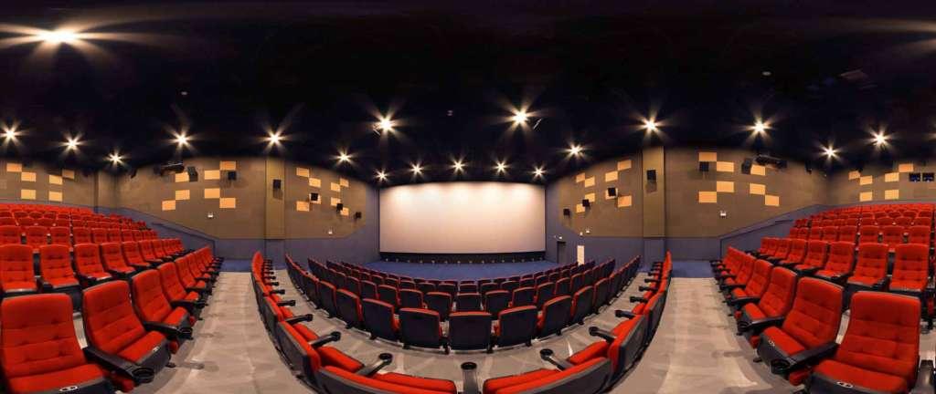 virtual tour 360 foto panoramiche cinema