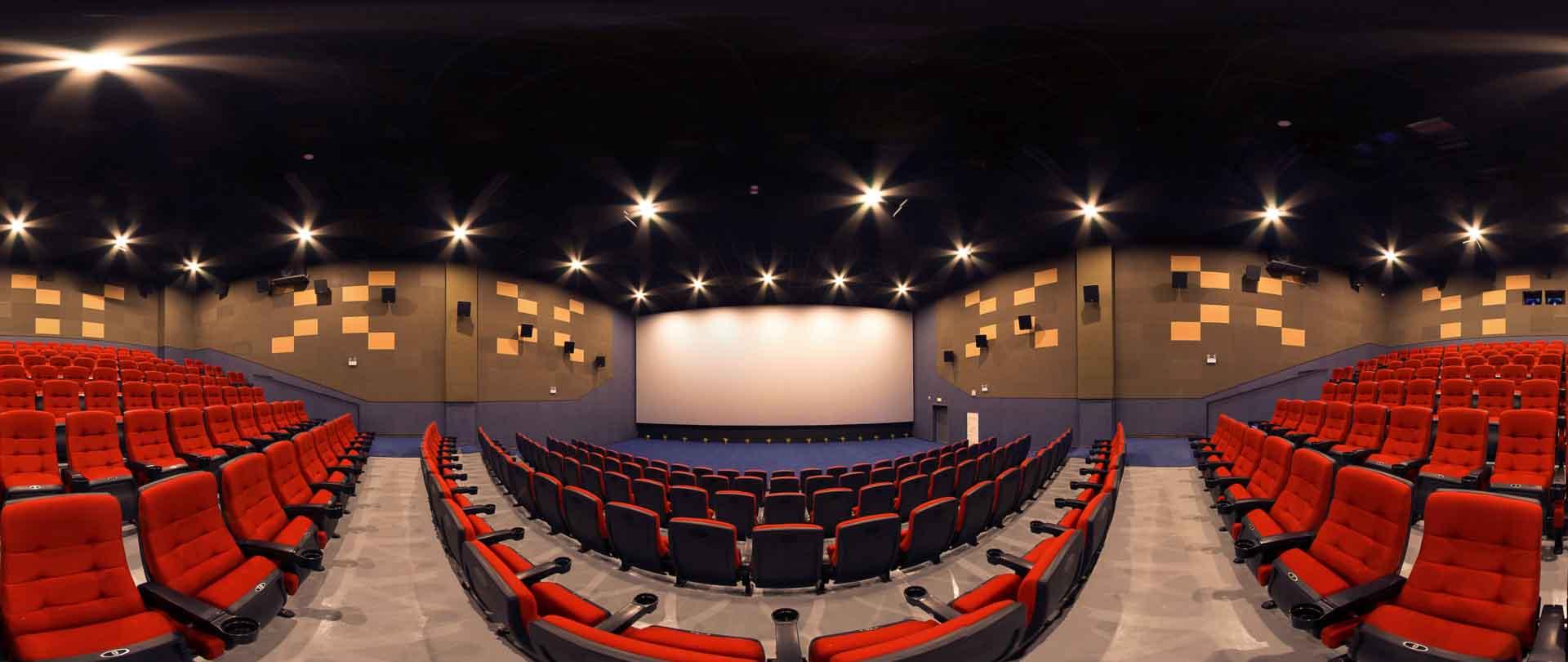 virtual tour 360 Cinema