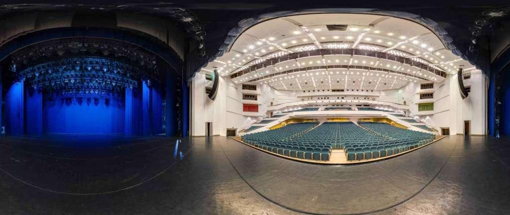 virtual tour 360 foto panoramiche teatro