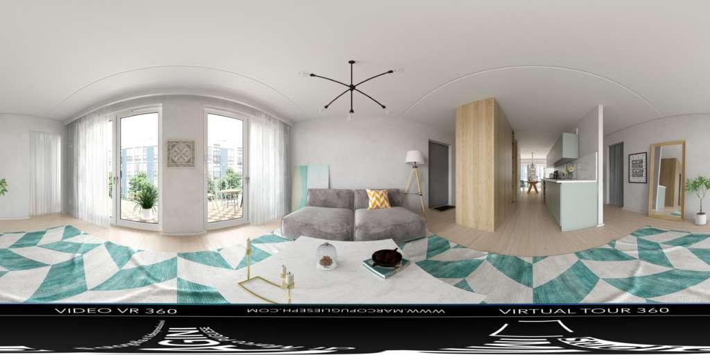 virtual tour 360 foto panoramiche casa vacanza real estate