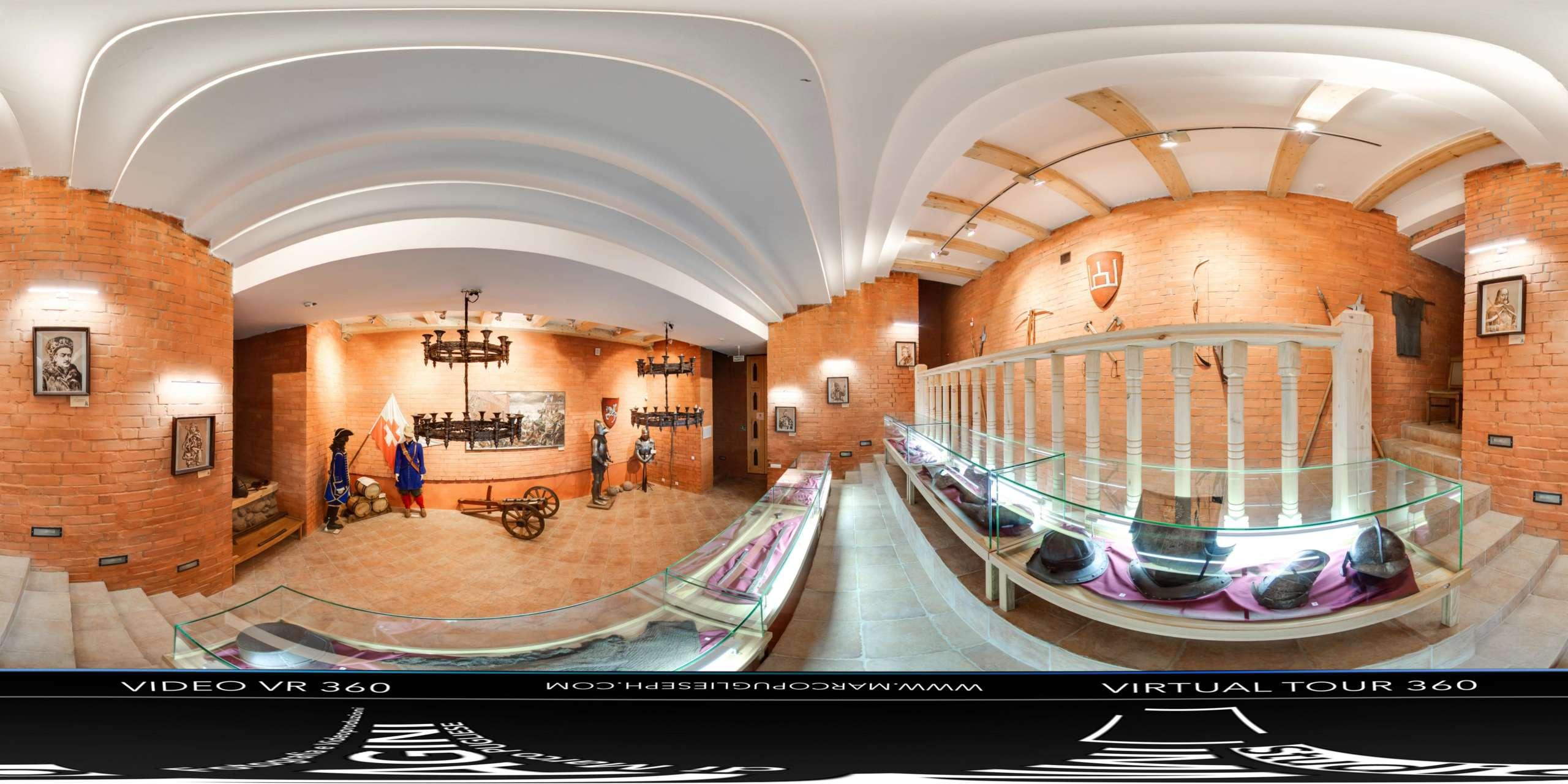 virtual tour 360 Museo
