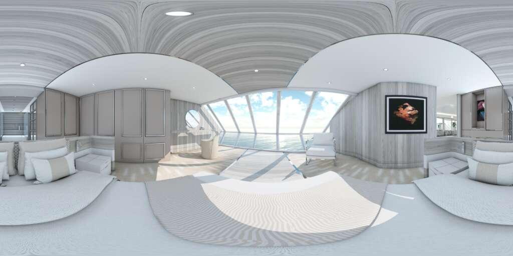 virtual tour foto 360 Yacht