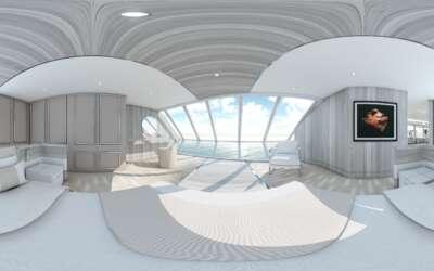 virtual tour 360 Yacht